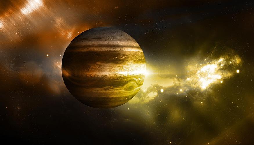 作为一颗行星,木星不仅是太阳系中最大,而且还是最老