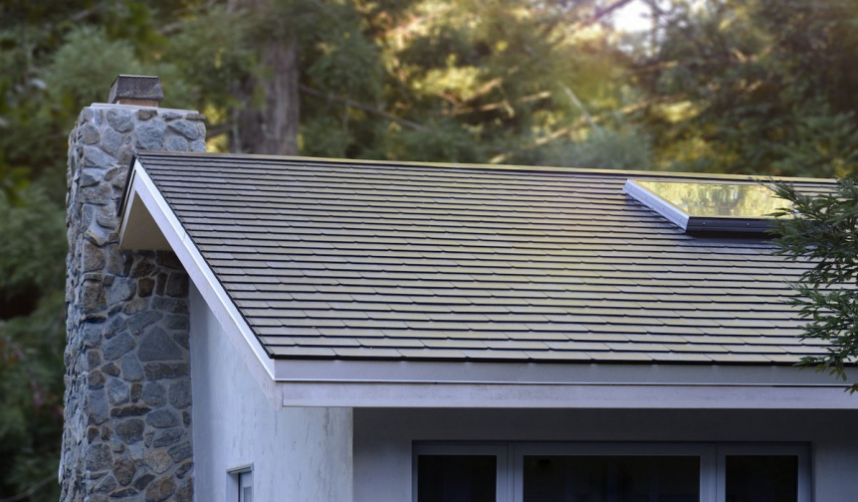 来来欣赏下特斯拉设计的太阳能屋顶