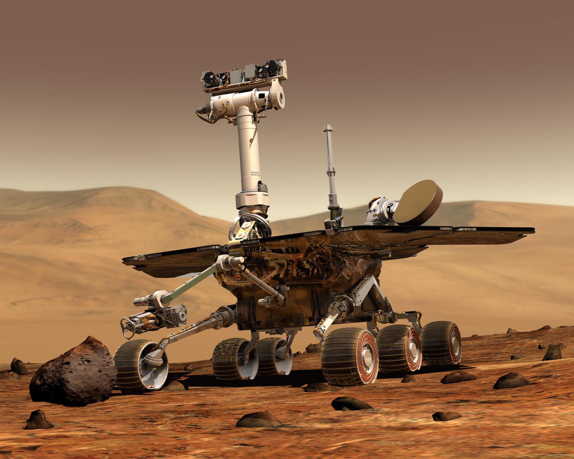 火星车构想图