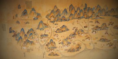 康熙台湾舆图(国立台湾博物馆)