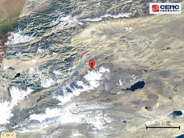 新疆于田县发生6.4级地震