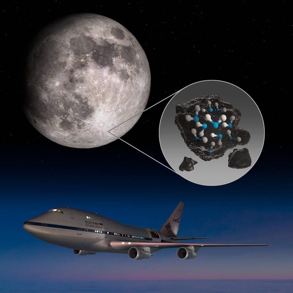 月球表面有水,美国NASA发布最新证据