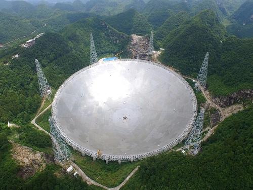 中国巨型射电望远镜FAST运行一年取得了系列成果