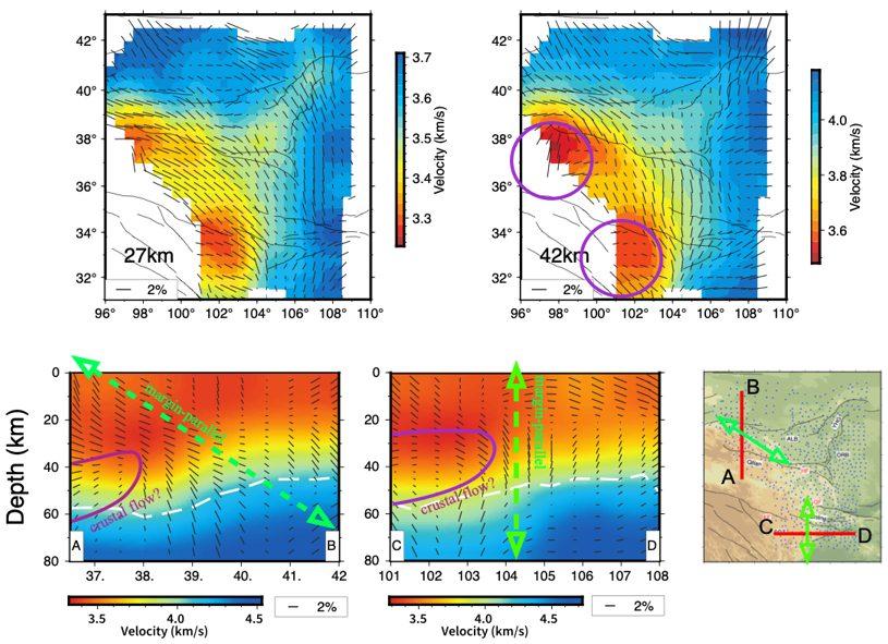 青藏高原东北缘存在地壳流?