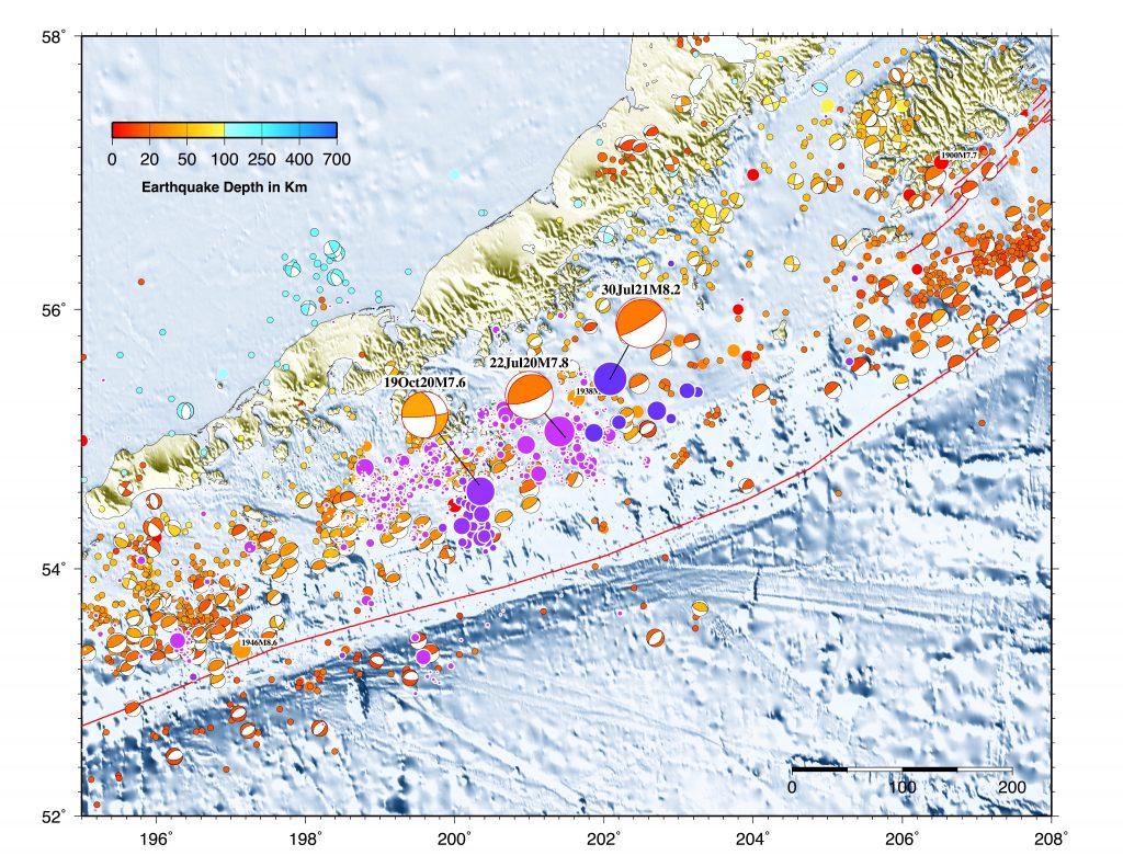 美国阿拉斯加发生M 8.2地震