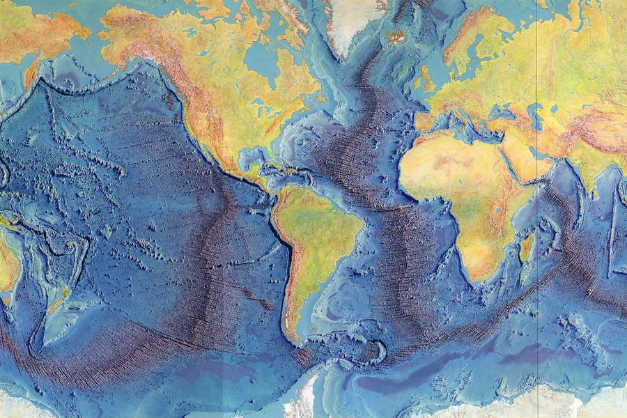 World Ocean Floor
